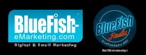 BlueFish Logo and Radio logo 2